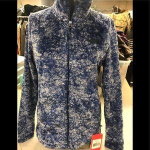 NorthFace fleece novelty Jacket Size Small